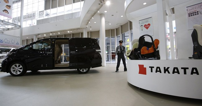 Toyota recalls cars in Japan, China for air bags