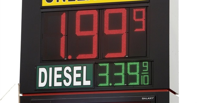 Gas prices below $2 a gallon in Texas, Oklahoma