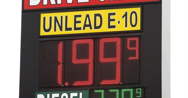 Gas prices below $2 a gallon in Texas, Oklahoma