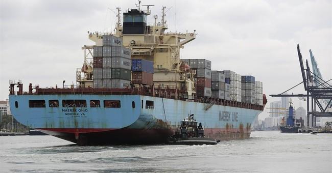 US trade deficit drops to $43.4 billion in October