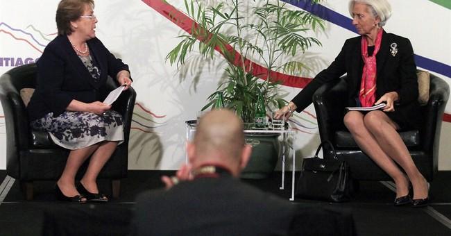 IMF head warns of bumpy road for Latin America