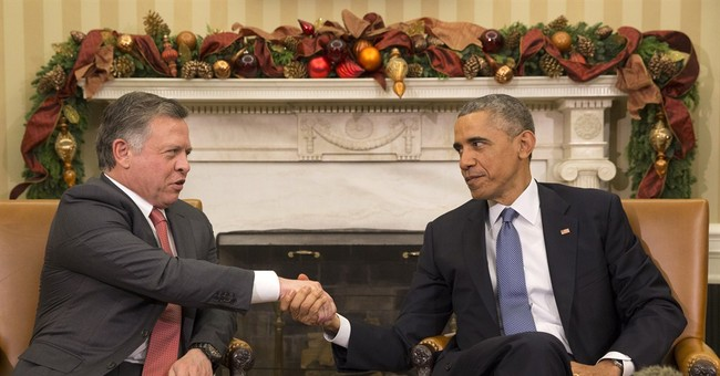 Obama discussing Islamic State with Jordan's king