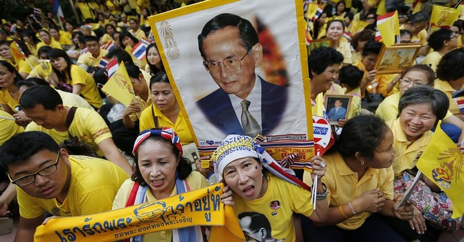 Thai king turns 87, but absent from celebrations
