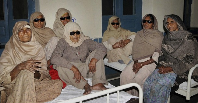 24 go blind after cataract surgery in India