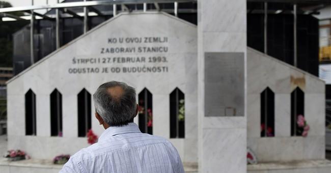 APNewsBreak: 15 arrests in Balkan war massacre