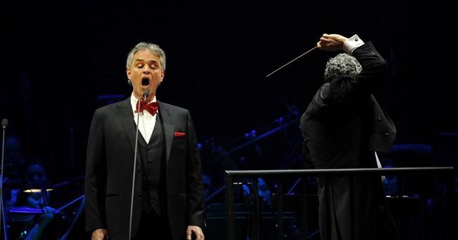 Andrea Bocelli to kick off US tour in Las Vegas