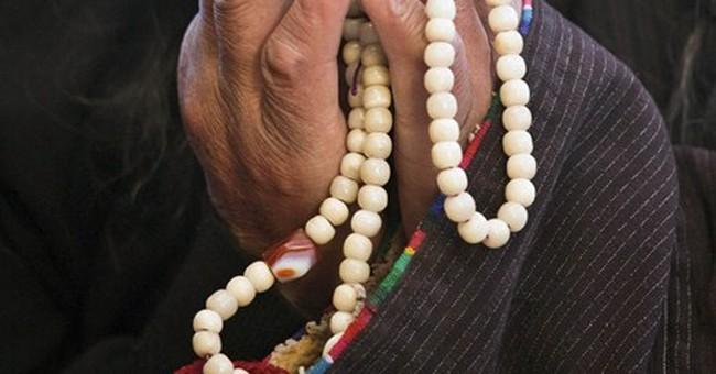 Image of Asia: Listening to Dalai Lama