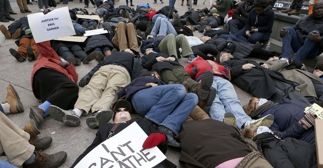 Protesters of chokehold death rally for 3rd day