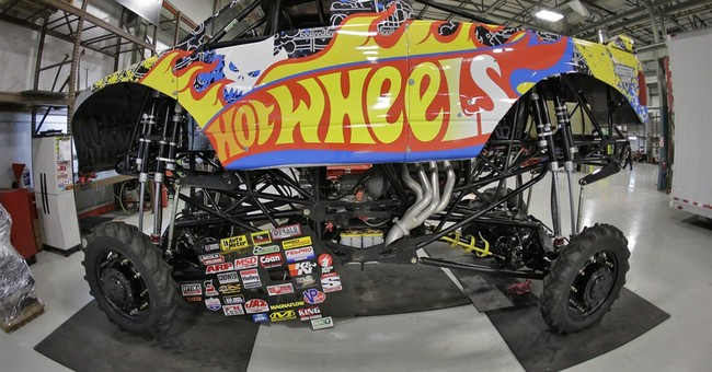 Monster trucks take American culture on the road