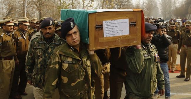 Major gunbattle near Kashmir border kills 17