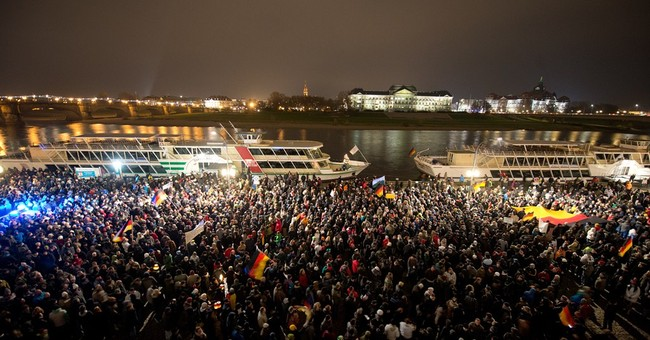 German city braces for large far-right protest