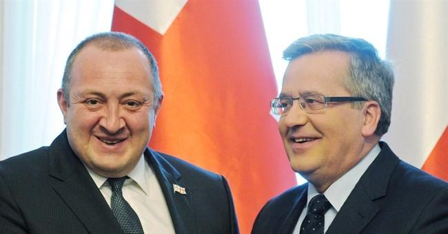 Georgian leader: Russia expanding power in Ossetia