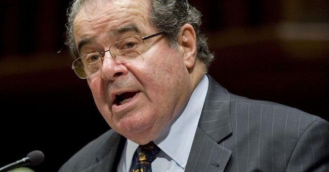 Scalia says internment ruling could happen again