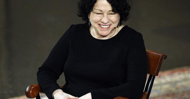 Justice Sotomayor describes navigating new worlds
