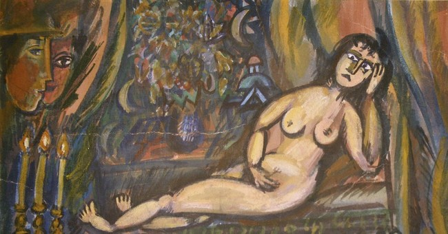 UK buyer's 'Chagall' nude may be burned as a fake