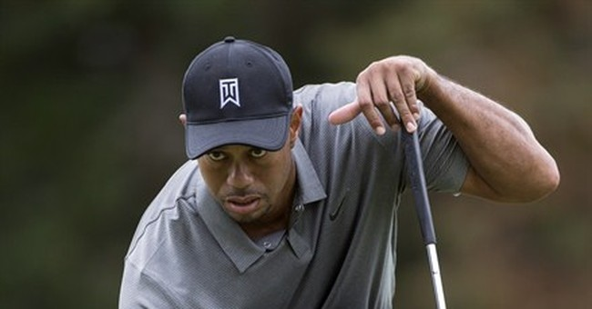 Sick Tiger Woods finally gets back to par with 69