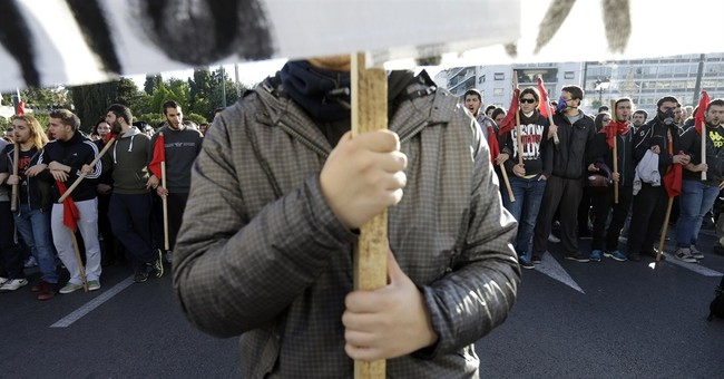 Protests in Greece on police shooting anniversary