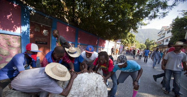 More violence in 2nd day of Haiti protest marches
