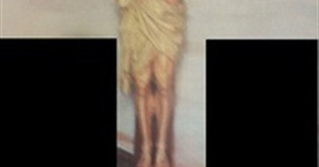 5-foot crucifix stolen from NYC church during Mass