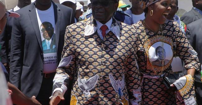 Zimbabwe's president alleges US plot against him