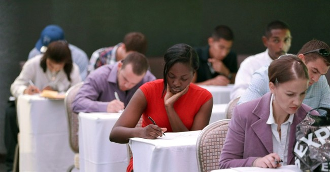 For US unemployed, job market hits a turning point