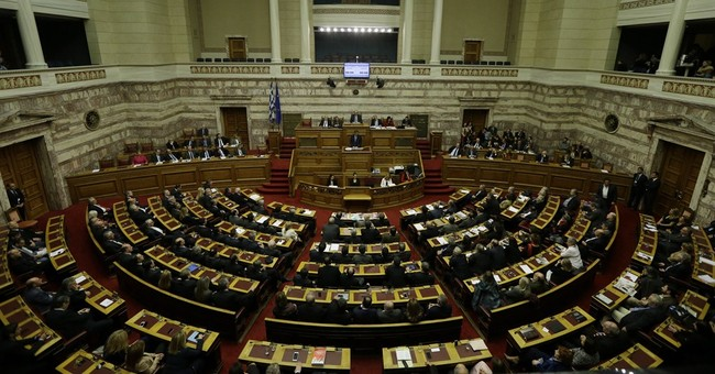 Greek govt gambles on early presidential vote