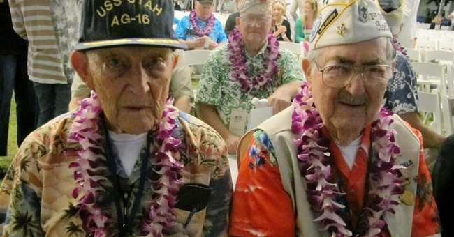 Survivors gather to remember Pearl Harbor attack
