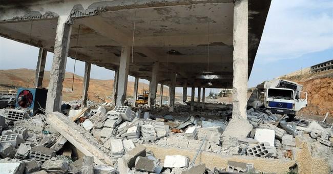 Syria says Israeli airstrikes hit near Damascus