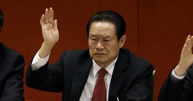 Ex-czar's arrest makes China's Xi stronger