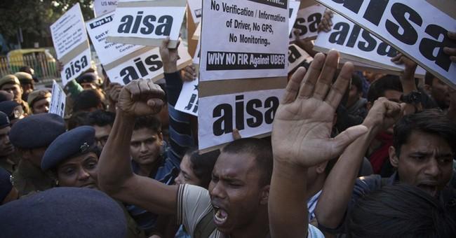 Indian police arrest Uber driver accused of rape