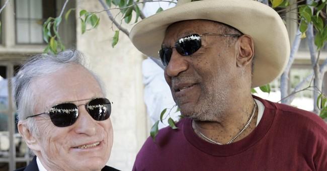 Hugh Hefner: Cosby allegations 'truly saddening'