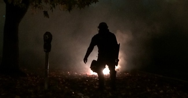 Violence erupts for 2nd night in Berkeley protest