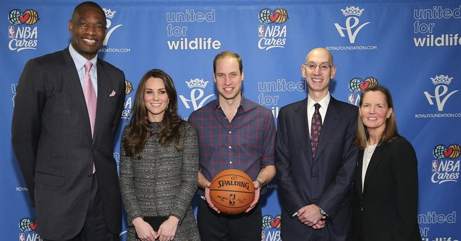 Prince William, Kate attend Cavs' game in Brooklyn