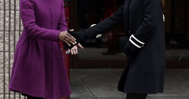 Kate visits NYC kids; Prince William joins Obama