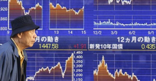 Asian stocks fall on growth concerns