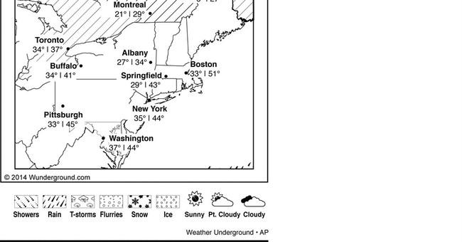Northeast bracing for heavy rains, snow, wind