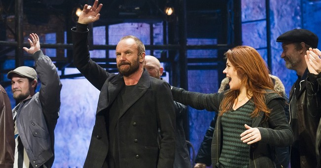 Sting joins his show 'The Last Ship' on Broadway