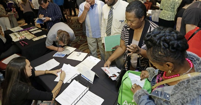 US job openings rise, hiring remains healthy
