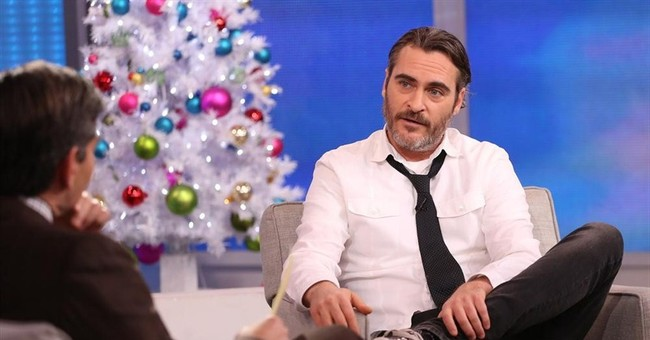 Joaquin Phoenix's brief 'engagement' on Letterman