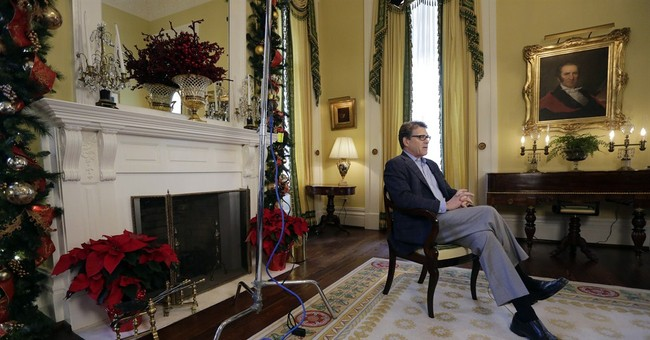 Perry: Most people expect me to run for president