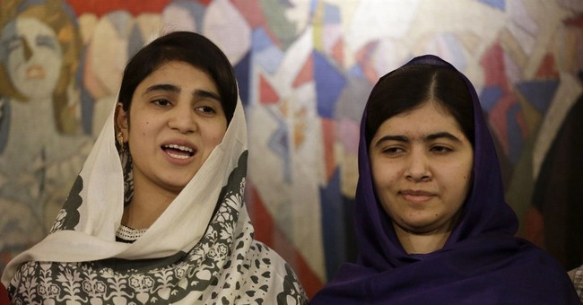 Girl power: Friends shot with Malala share her joy