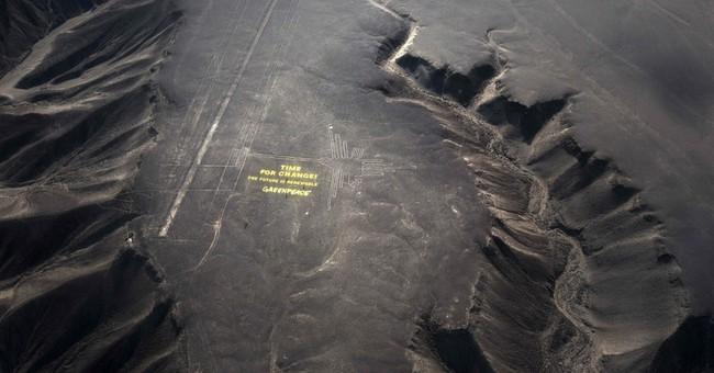 Peru riled by Greenpeace stunt at Nazca lines