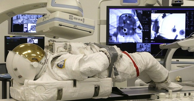 NASA and Houston hospital work on spacesuit issue