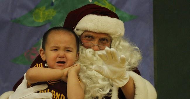 Volunteers bring Santa to remote Alaska village