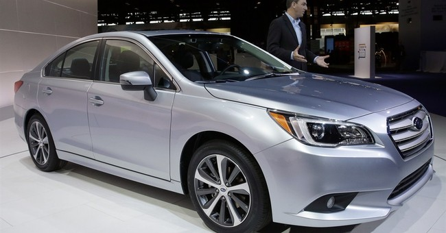 Roomiest Subaru Legacy debuts for 2015