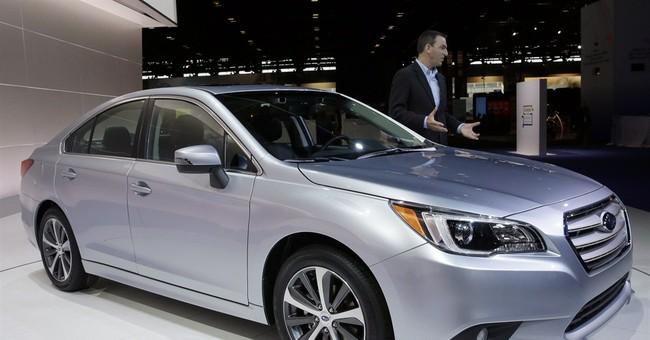 Roomiest Subaru Legacy debuts for 2015