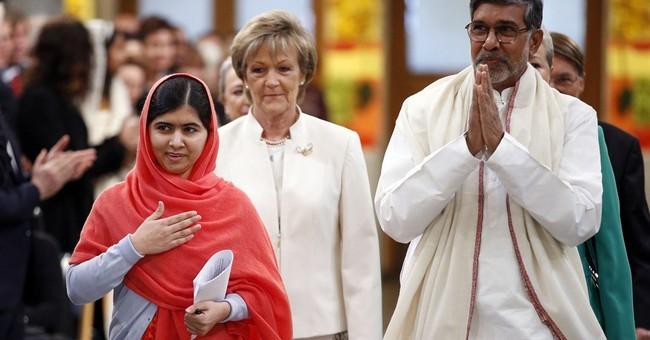 Malala, Satyarthi receive Nobel Peace Prize