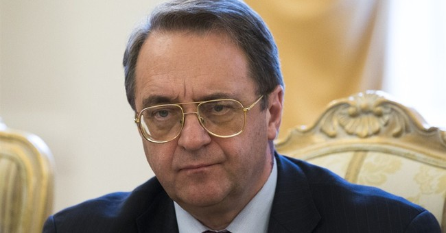 Russian official in Syria talks peace with Assad