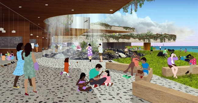 Hawaii envisions presidential library on the beach