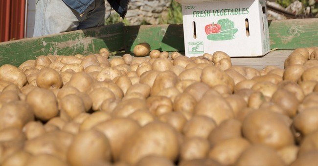 Congress puts potatoes on menu for low-income moms